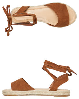 TAN WOMENS FOOTWEAR THERAPY FASHION SANDALS - SOLE-1009TAN
