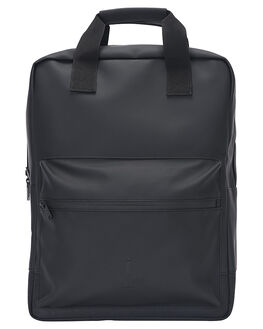 BLACK MENS ACCESSORIES RAINS BAGS - RNS1287BLK