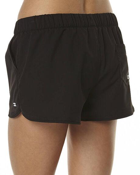 BLACK WOMENS CLOTHING BILLABONG SHORTS - 6551361BLK