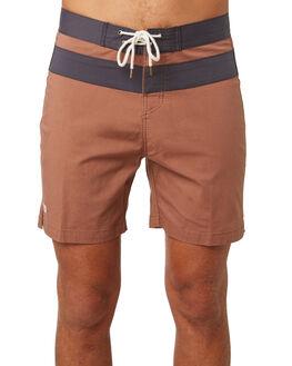 ROSEWOOD MENS CLOTHING MCTAVISH BOARDSHORTS - MS-18BS-02ROSE
