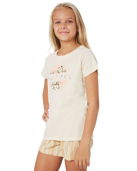 BEIGE KIDS GIRLS RIP CURL TOPS - JTEEE10001