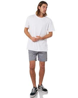 PIRATE BLACK MENS CLOTHING RVCA BOARDSHORTS - R381408PBLK