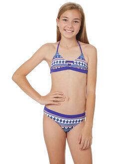 BRIGHT BLUE KIDS GIRLS RIP CURL SWIMWEAR - JSIDC14286