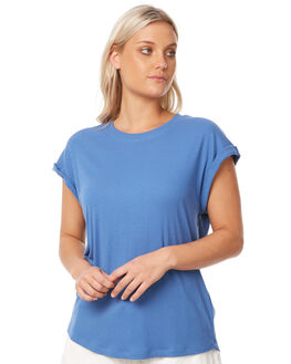 BLUE DAWN WOMENS CLOTHING RUSTY TEES - TTL0950BDW