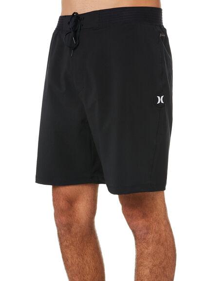 BLACK MENS CLOTHING HURLEY BOARDSHORTS - CJ5415010