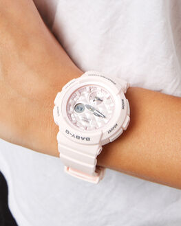 PINK WOMENS ACCESSORIES BABY G WATCHES - BGA190BE-4APNK