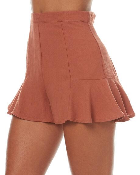 BRICK WOMENS CLOTHING MINKPINK SHORTS - MB1705430BRI
