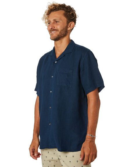 NAVY MENS CLOTHING ACADEMY BRAND SHIRTS - 19W841NVY
