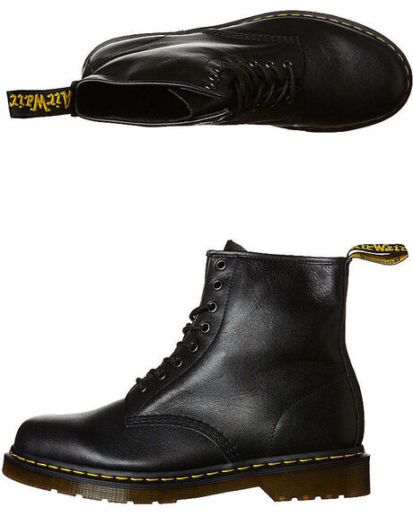 BLACK WOMENS FOOTWEAR DR. MARTENS SNEAKERS - SS11822002BLKW