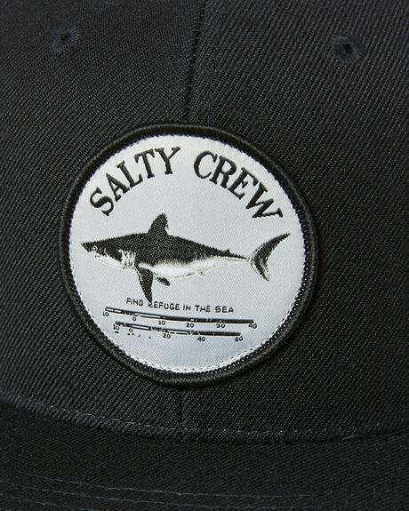 BLACK MENS ACCESSORIES SALTY CREW HEADWEAR - 35035072BLK