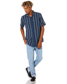 NAVY MENS CLOTHING KATIN SHIRTS - WVRAN06NVY