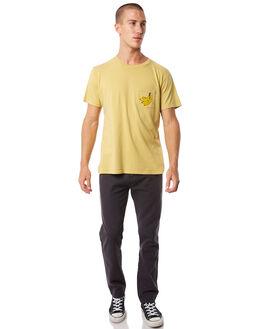 MUSTARD MENS CLOTHING MOLLUSK TEES - MS1558MSTRD