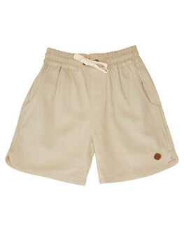 CREAM KIDS BOYS CHILDREN OF THE TRIBE SHORTS - BYSH0409CRM