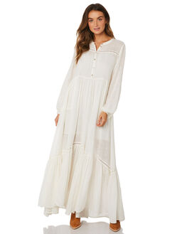 WHITE WOMENS CLOTHING TIGERLILY DRESSES - T393413WHT