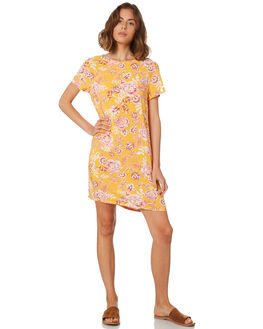 SUMMER FLORAL PRINT WOMENS CLOTHING ALL ABOUT EVE DRESSES - 6423081PRNT
