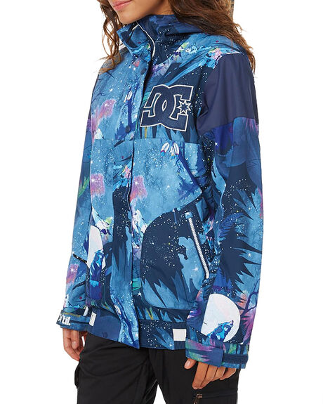 HOWLING MOON SNOW OUTERWEAR DC SHOES JACKETS - EDJTJ03022BSN6