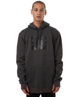 DARK SHADOW HEATHER MENS CLOTHING DC SHOES JUMPERS - EDYFT03288KRP1
