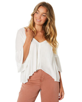 IVORY WOMENS CLOTHING FREE PEOPLE FASHION TOPS - OB9218001103