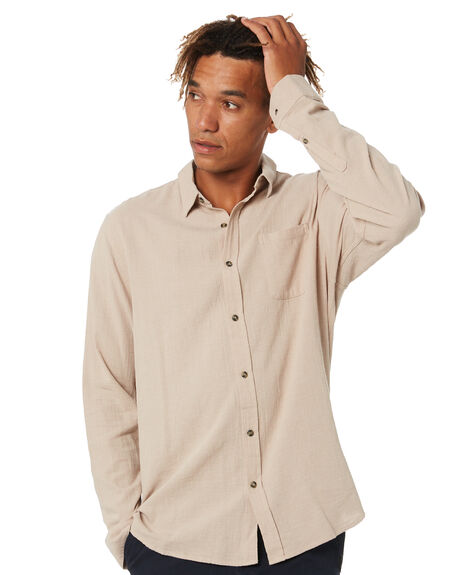 HUMUS MENS CLOTHING RUSTY SHIRTS - WSM0987HMS