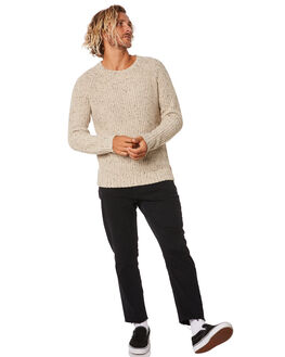 FEATHER GREY MENS CLOTHING RUSTY KNITS + CARDIGANS - CKM0344FTG