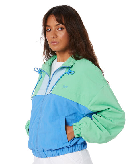 ABSINTHE GREEN WOMENS CLOTHING LEVI'S JACKETS - 85421-0001ABSNT