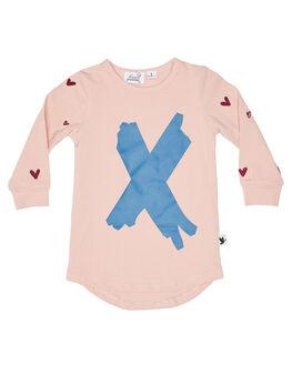 PINK KIDS GIRLS KISSED BY RADICOOL DRESSES + PLAYSUITS - KR1222PINK