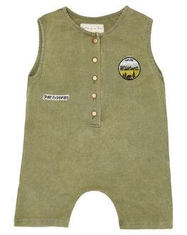OLIVE KIDS BABY CHILDREN OF THE TRIBE CLOTHING - BBRP0344OLV
