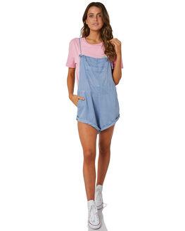 BLUE WOMENS CLOTHING BILLABONG PLAYSUITS + OVERALLS - 6572501BLU