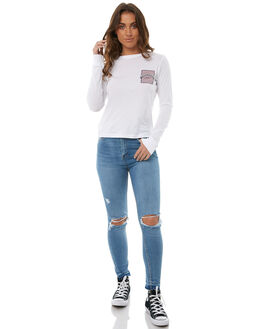 DARK DAYS BLOW OUT WOMENS CLOTHING ZIGGY JEANS - ZW-1489DDAY
