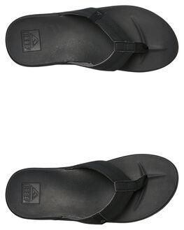 BLACK MENS FOOTWEAR REEF THONGS - A3FDIBLA