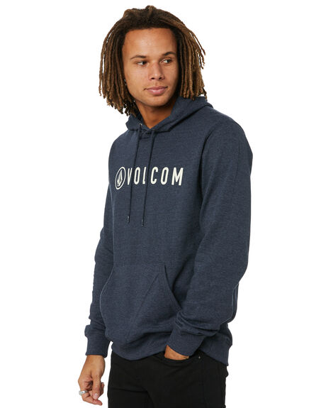 NAVY HEATHER MENS CLOTHING VOLCOM JUMPERS - A41416R3NVHP