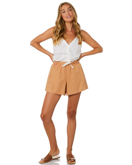 CLAY WOMENS CLOTHING NUDE LUCY SHORTS - NU23685CLY