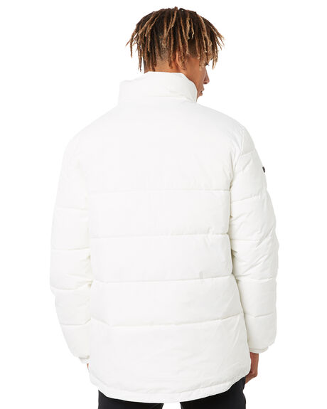 WHITE MENS CLOTHING HUFFER JACKETS - MPJA11S2607WHT