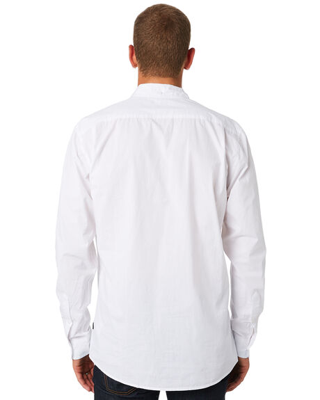 WHITE OUTLET MENS SWELL SHIRTS - S5164667WHT