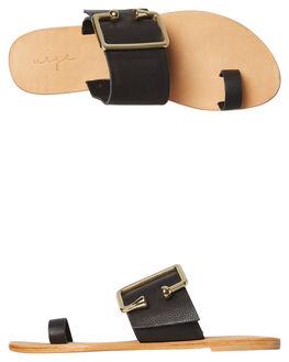 BLACK WOMENS FOOTWEAR URGE FASHION SANDALS - URG17166BLK