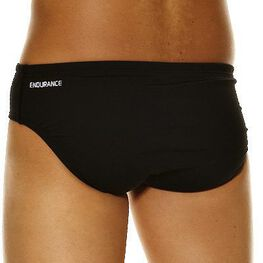BLACK MENS CLOTHING SPEEDO SWIMWEAR - 12345BLK