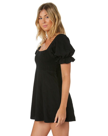 BLACK WOMENS CLOTHING RUE STIIC DRESSES - SA-20-10-1BLK