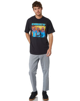 NAVY MULTI MENS CLOTHING OBEY PANTS - 142020115NVYMU