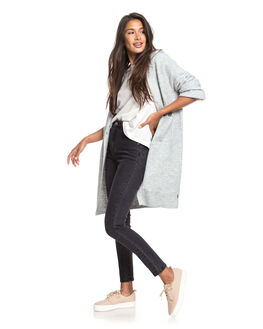 HERITAGE HEATHER WOMENS CLOTHING ROXY KNITS + CARDIGANS - ERJSW03385-SGRH