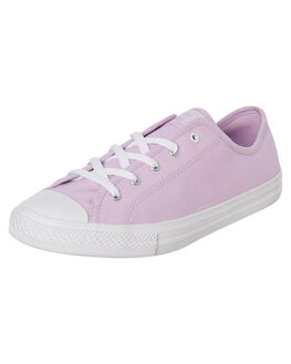 LILAC WOMENS FOOTWEAR CONVERSE SNEAKERS - 566150CLILAC