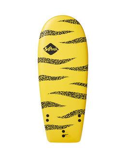 YELLOW BLACK SURF SOFTBOARDS SOFTECH FUNBOARD - STRL-YBL-046YBL