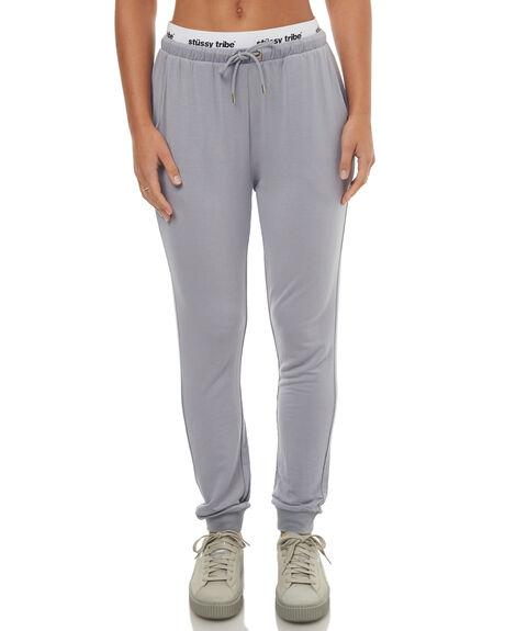 GREY WOMENS CLOTHING STUSSY PANTS - ST172A03GREY