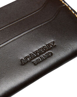 CHOCOLATE MENS ACCESSORIES ACADEMY BRAND WALLETS - 20S002CHO