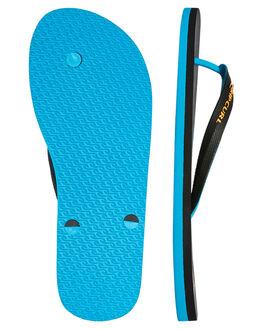 BLUE ORANGE MENS FOOTWEAR RIP CURL THONGS - TCTA661691