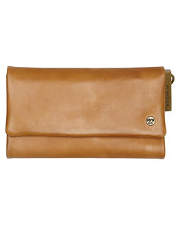 CARAMEL WOMENS ACCESSORIES STITCH AND HIDE PURSES + WALLETS - PAIGETCAM