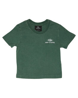 FOREST GREEN KIDS TODDLER BOYS RIP CURL TOPS - OTEMS20056