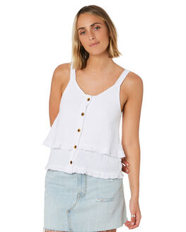 WHITE WOMENS CLOTHING SWELL FASHION TOPS - S8202010WHI