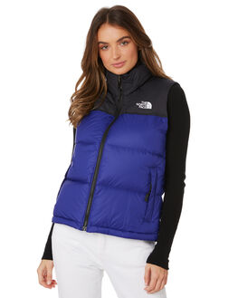 AZTEC BLUE WOMENS CLOTHING THE NORTH FACE JACKETS - NF0A3JQS5NX