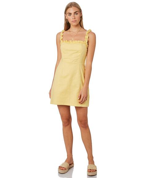 LEMON WOMENS CLOTHING LULU AND ROSE DRESSES - LU23826LMN