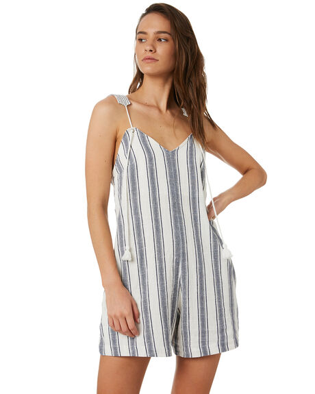 BLUE WOMENS CLOTHING TIGERLILY PLAYSUITS + OVERALLS - T392469BLU